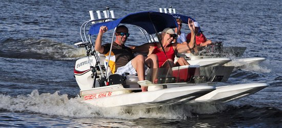Palm Harbor, Floryda: Spend time in on Lake Tarpon in Pinellas county Florida enjoying nature or fishing on one of these amazing CraigCat boats starting at $70 for two people. Call Kool Cat Rentals at 727 KOOL CAT (566-5228) or book online at www.koolcatrentals.com serving all of the Tampa Bay Area fun things to do on the water