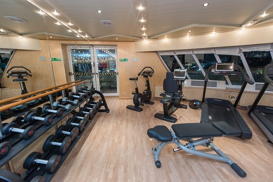Fitness Center on Seven Seas Navigator