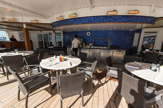 The Pool Grill on Seven Seas Navigator
