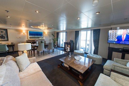The Master Suite on Seven Seas Navigator