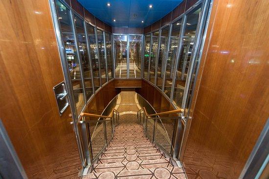 Stairs on Seven Seas Navigator