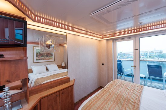 The Extended Balcony Cabin on Carnival Miracle