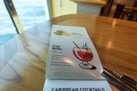 RedFrog Pub on Carnival Miracle