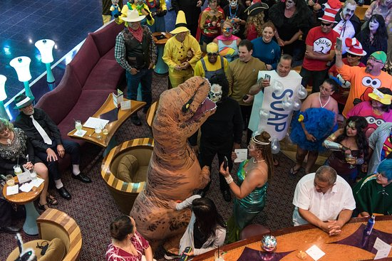 Halloween Party on Carnival Miracle