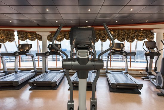 Fitness Center on Carnival Miracle