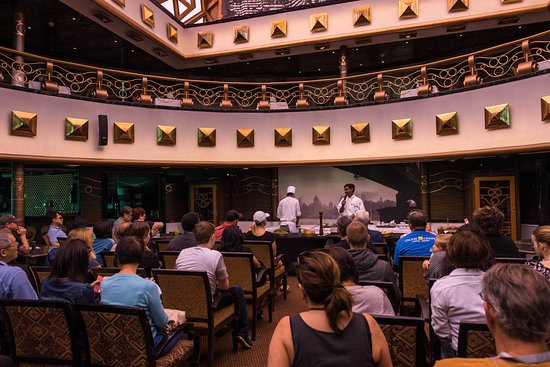 Cooking Demonstration on Carnival Miracle