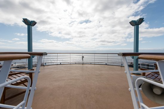 Sky Deck on Carnival Miracle