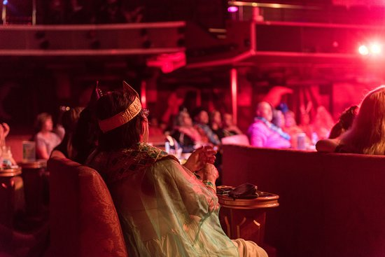 Production Show in Phantom Theater on Carnival Miracle