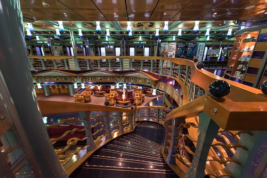 Atrium on Carnival Miracle