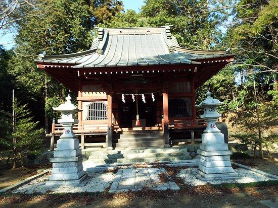 Matsuda-machi, Japan: 寄神社本殿。