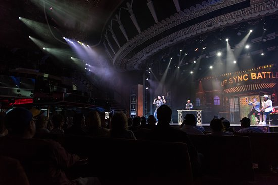 Lip Sync Battle in Phantom Theater on Carnival Miracle