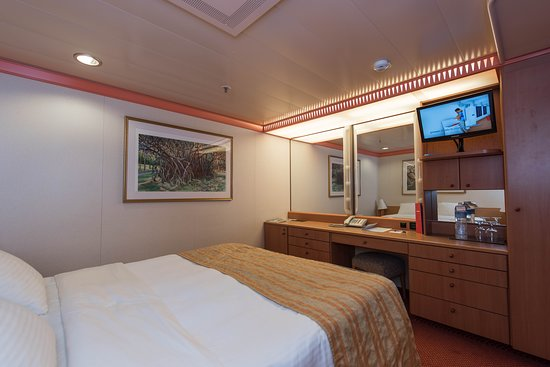 The Interior Cabin on Carnival Miracle