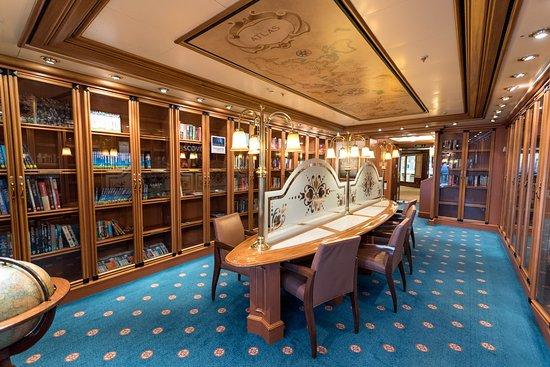 Library on Emerald Princess
