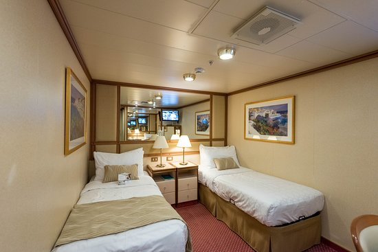 The Interior Cabin on Emerald Princess