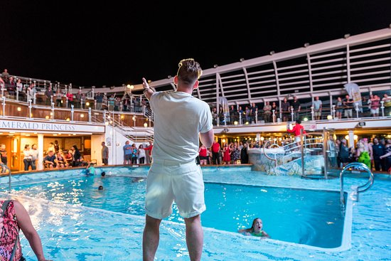 """""""The Love Boat"""" Disco Deck Party on Emerald Princess"""