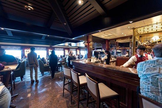 Wheelhouse Bar on Emerald Princess