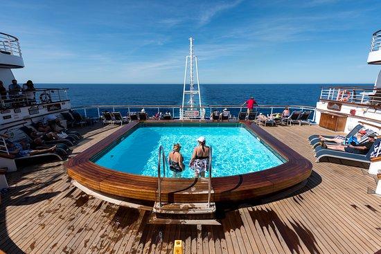 Terrace Pool on Emerald Princess