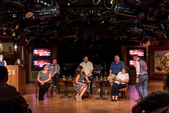 """""""Marriage Match Gameshow"""" at Explorers Lounge on Emerald Princess"""