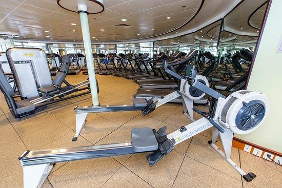 Pulse Fitness Center on Norwegian Dawn