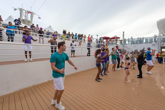 Sail-Away Party on Norwegian Dawn