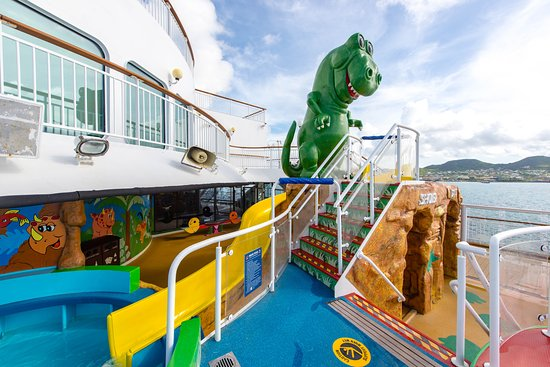 Kids' Pool on Norwegian Dawn