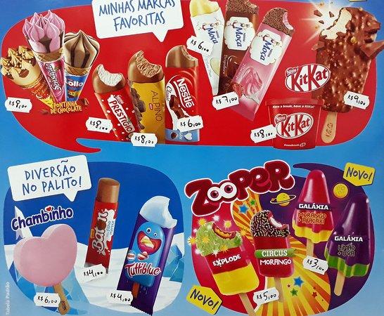 Picolé Nestlé