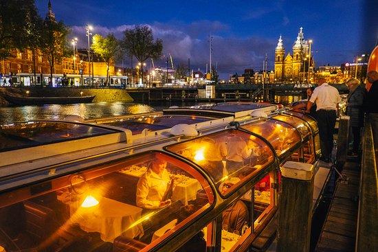 Avondrondvaart in Amsterdam, met ...