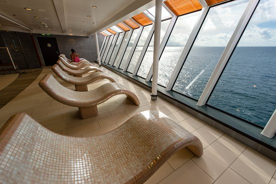Thermal Suite on Norwegian Dawn