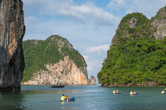Phang Nga Bay Day Trip Kayaking with...