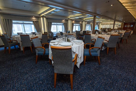 The Restaurant on Silver Cloud Expedition