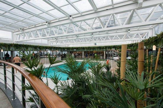 Jungle Pool Lounge on MSC Seaside