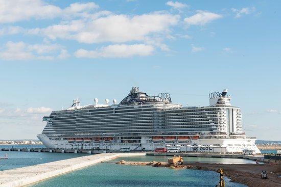 Ship Exterior on MSC Seaside