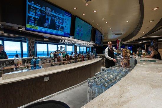 Sports Bar on MSC Seaside