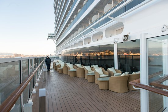 The Sun Decks on MSC Seaside