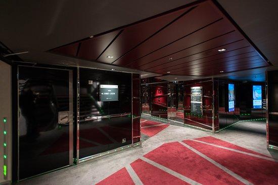 Elevators on MSC Seaside