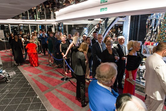 Captain's Welcome Aboard Party on MSC Seaside