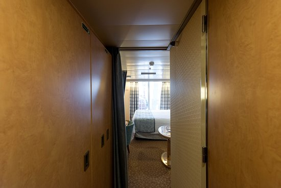 The Obstructed Ocean-View Cabin on Westerdam