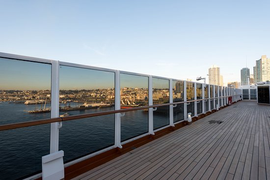 Observation Deck on Westerdam