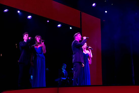 """""""All For Love"""" in the Mainstage Theater on Westerdam"""