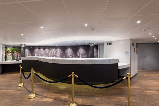 Guest Services Desk on Westerdam