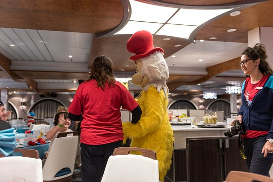 Green Eggs and Breakfast on Carnival Elation