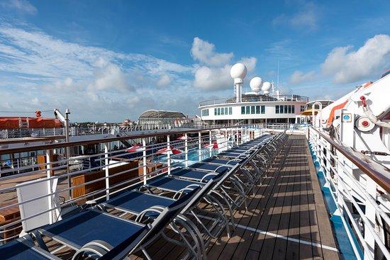 Sun Deck on Carnival Elation