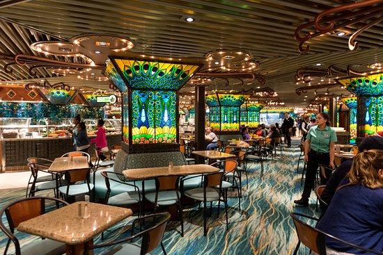 Tiffany's Lido Restaurant on Carnival Elation
