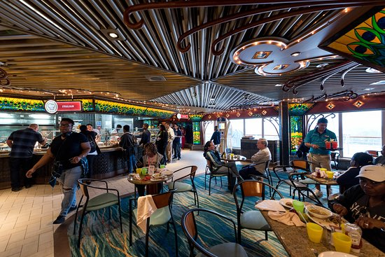 Tiffany's Lido Restaurant on Carnival Elation
