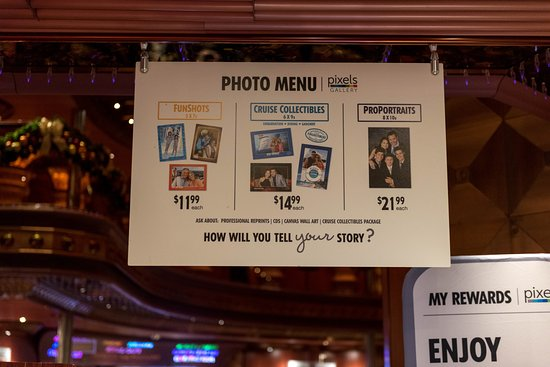 Photo and Video Gallery on Carnival Elation