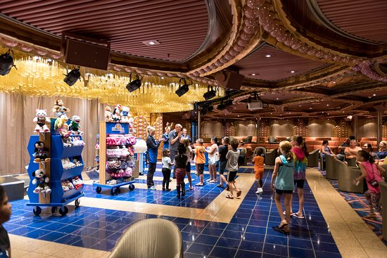Build-A-Bear Workshop at Sea in the Cole Porter Aft Lounge on Carnival Elation