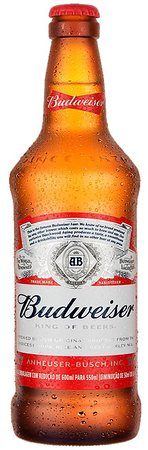 Aqui tem Pizza e Conveniencia: Budweiser 550ml.