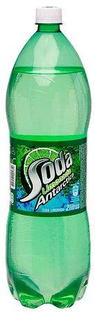 Refrigerante Soda Limonada 2 litros.