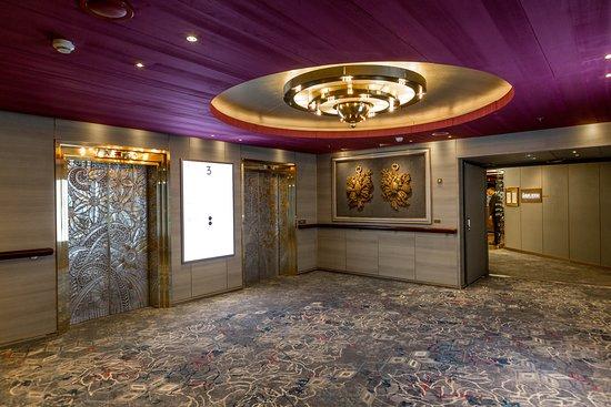 Elevators on Zuiderdam