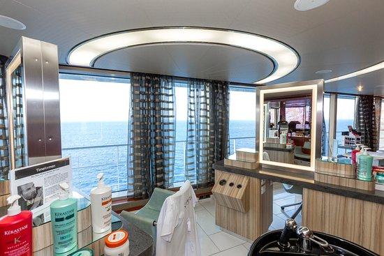 Beauty Salon on Zuiderdam
